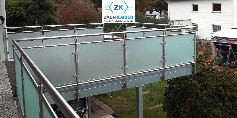 ZAUN KAISER - Stahl- und Edelstahlprodukte