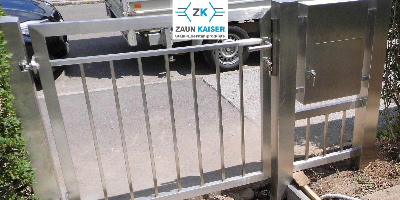 ZAUN KAISER Stahl und Edelstahlprodukte